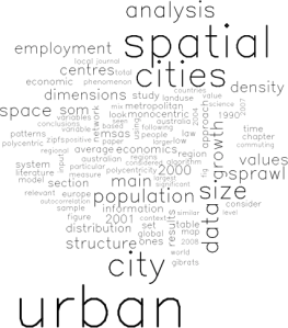 Dissertation word cloud